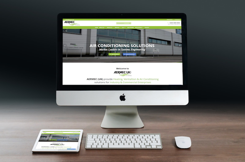 Aermec unveils new website